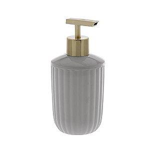 Porta Sabonete Liquido Canelatta - Creme