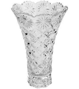 Vaso de Cristal Diamond Star 15x25CM