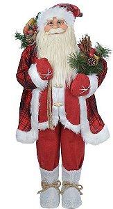 Papai Noel em Pé 90CM