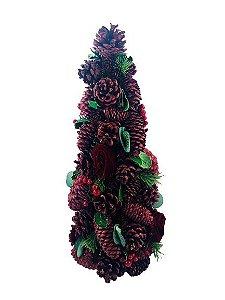 Árvore Natal Cone com Pinha