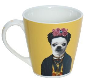 Caneca Pets Rock México Yellow 405ML