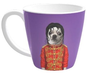 Caneca Pets Rock Pop Lilac 405ML