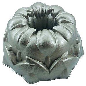 Forma para Bolo Tulipa Alumínio Fundido 20221