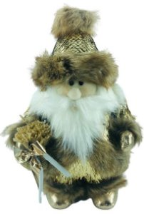 Papai Noel Golden 16x26cm - 14445