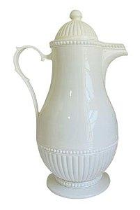 Garrafa Térmica Plástico Branca Vintage 1L
