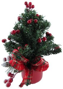 Árvore Decorada Natal Pequena