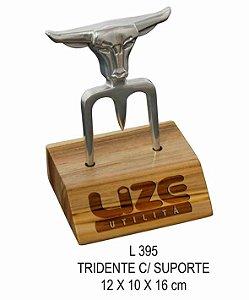 Tridente C/ Suporte L395