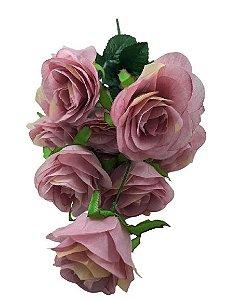 Buque Rosa X9 51CM Lilás 07989