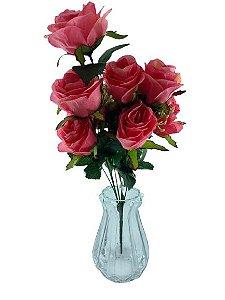 Buque Rosa X9 51CM Rosa Antigo 07989
