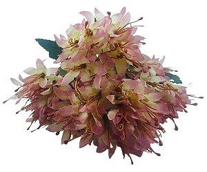 Buque Lírio Mini X18 Rose Outono 32CM 42989003
