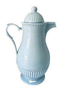 Garrafa Térmica Plástico Azul Vintage 1L