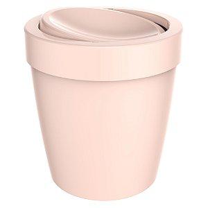 Lixeira Vitra Rosa Nude Basculante LX655
