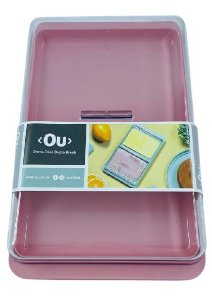 Porta Frios Duplo Rosa Quartzo Break PF450