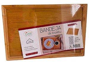 Bandeja de Bambu 33x22x2,5CM CZ19468