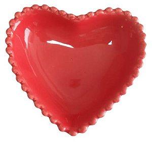 Coração Cerâmica Pequeno Vermelho 9,3 x 9,2 2008080