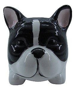 Cachorro Preto Vaso FR202026