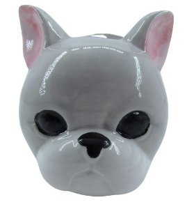 Cachorro Branco Vaso FR202027