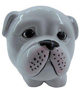 Cachorro Branco Vaso FR202028