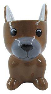 Cachorro Marrom Vaso FR202030