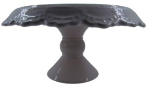 Prato Cerâmica c/ Pé 4560