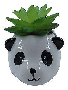 Panda Vaso C/ Suculenta 4887