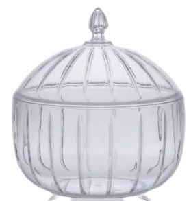 Bomboiere LIV 1,5 Litros Cristal 1663