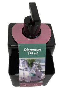 Dispenser 570ML Preto Concept 1249