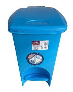 Lixeira com Pedal 7L Azul 12756