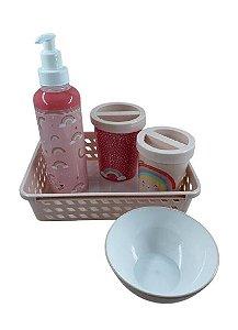 Kit Higiene Infantil Menina 9700