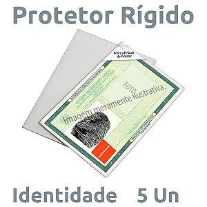PLÁSTICO RÍGIDO PARA IDENTIDADE - 5 UN