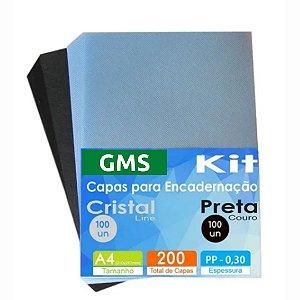 CAPAS PARA ENCADERNAÇÃO TAMANHO A4 (200 UN)