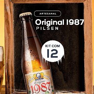 Cerveja artesanal kit 12/un - Original 1987 500ml