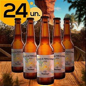 Cerveja artesanal kit 24/un - Princesinha Pilsen 355ml