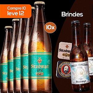 Cerveja artesanal kit 10/un - IPA + Grátis 2 Princesinha Pilsen 355ml