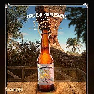Cerveja artesanal Princesinha Pilsen 355ml