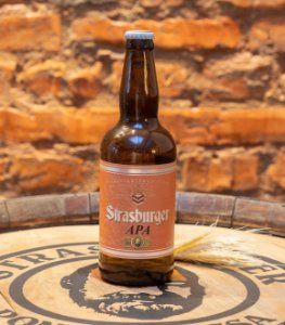 Cerveja artesanal APA (American Pale Ale) 500ml - Strasburger