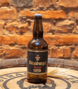 Cerveja artesanal Stout 500ml - Strasburger