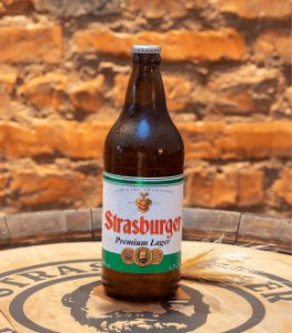 Cerveja artesanal Premium Lager 500ml - Strasburger