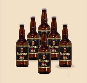 Cerveja artesanal - kit com 6/un - Stout 500ml