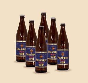 Cerveja artesanal kit Stras 15 - Kit 6/un Weiss 500ml - Strasburger