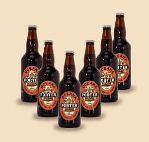 Cerveja artesanal kit Stras 7 - Kit 6/un Oceana Porter 500ml - Strasburger