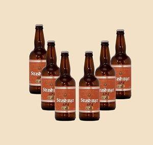 Cerveja artesanal kit Stras 5 - 6/un APA 500ml - Strasburger