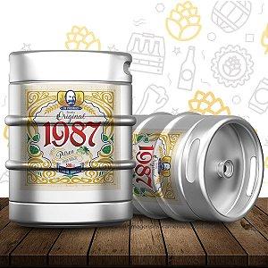 Barril de cerveja artesanal Original 1987 - Strasburger