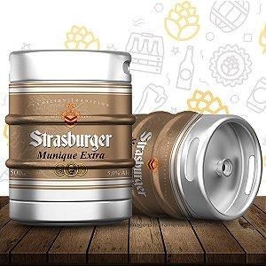 Barril de cerveja artesanal Munique Extra - Strasburger
