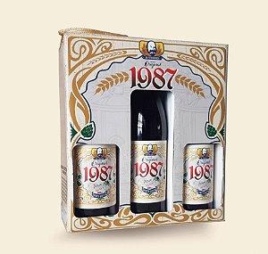 Cerveja artesanal kit Stras 10 - 3/un Cerveja 1987 Original 500ml - Strasburger