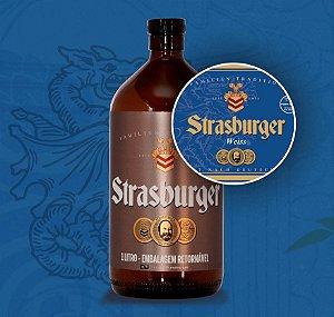 Growler de Cerveja artesanal - Weiss - Strasburger
