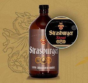Growler de Cerveja artesanal - Stout - Strasburger