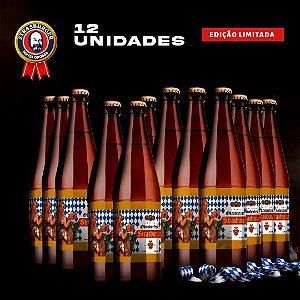 Cerveja artesanal kit Stras 23 - 12/un Oktoberfest 500ml - Strasburger