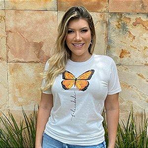 T-Shirt Borboleta Coleção Sorte - PV