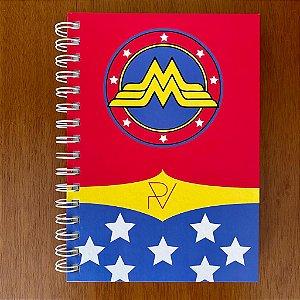 Caderno Mulher Maravilha PV